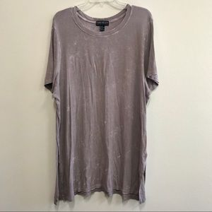Forever 21 Lavender Ribbed Tunic Top Sz 3X